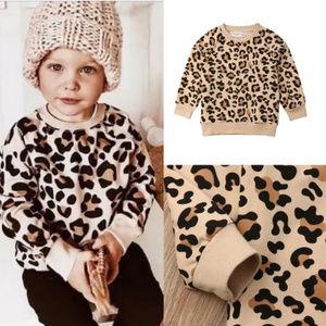 Other - Toddler Cheetah Print Sweatshirt